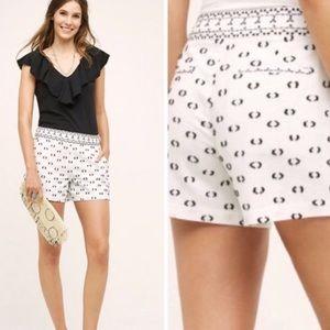 Anthropologie Hei Hei Clip-Dot Lexie Shorts 4